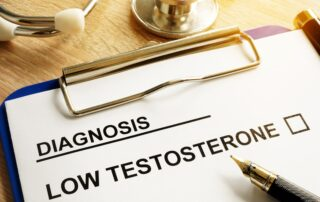Diagnosis Low testosterone and hair loss